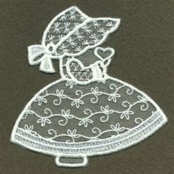 Sunbonnet Sue embroidery design
