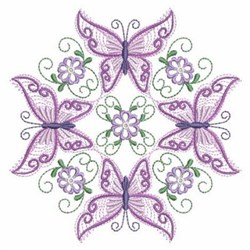 Quilt Butterfly Blocks embroidery design