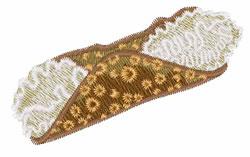 Cannoli embroidery design