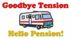 Goodbye Tension embroidery design