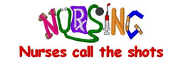 Nursing Call Shots embroidery design