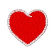 Nursing Heart embroidery design