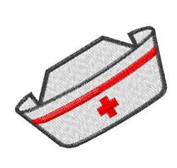 Nurse Cap embroidery design