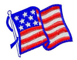 USA True Blue Logo embroidery design