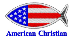 American Christian embroidery design