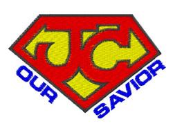 Jesus Our Savior embroidery design