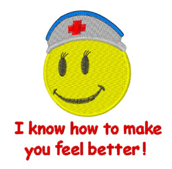 Make You Feel Better embroidery design