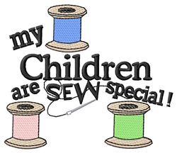 Children Special embroidery design