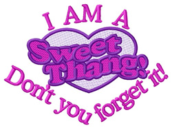 Sweet Thing embroidery design