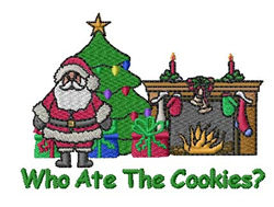 Who Ate The Cookies embroidery design