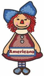 Americana Girl embroidery design
