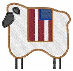 USA Ewe embroidery design