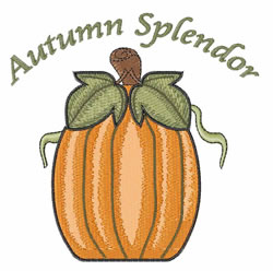 Autumn Splendor embroidery design