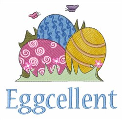 Eggcellent embroidery design