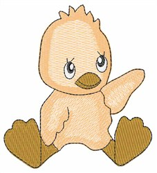 Baby Ducky embroidery design