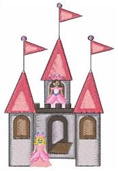 Princess Palace embroidery design