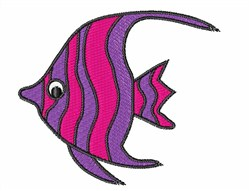 Baby Angel Fish embroidery design