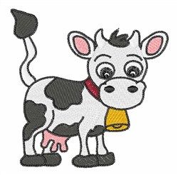 Milk Cow embroidery design