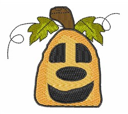 Jack O Lantern Pumpkin embroidery design