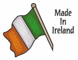 Made in Ireland embroidery design