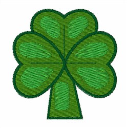 Green Clover embroidery design