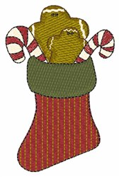 Xmas Stocking embroidery design
