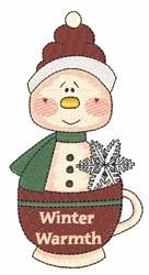 Winter Warmth embroidery design