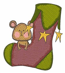 Stockking Mouse embroidery design