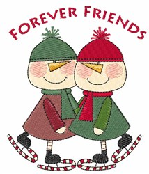 Skater Friends embroidery design