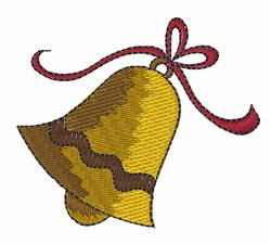 Xmas Bell embroidery design