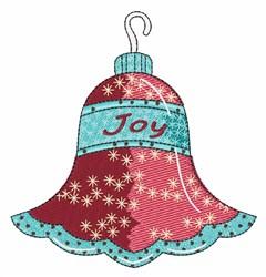 Joy Ornament embroidery design