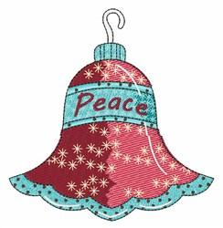 Peace Ornament embroidery design
