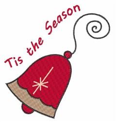Season Bell embroidery design