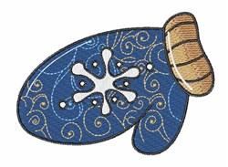 Winter Mitten embroidery design