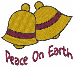 Peace Bells embroidery design