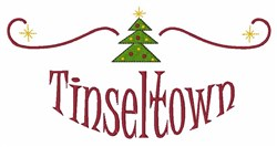 Tinseltown embroidery design