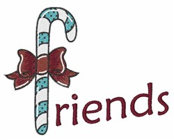 Candy Friends embroidery design