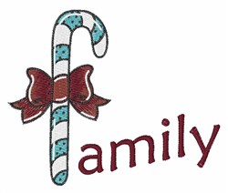Family Candy embroidery design
