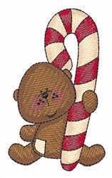 Xmas Bear embroidery design