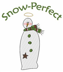 Snow Perfect embroidery design