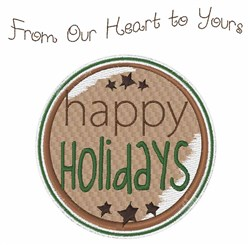 From Our Heart embroidery design