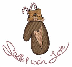 Stufed With Love embroidery design