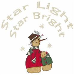 Star Bright embroidery design