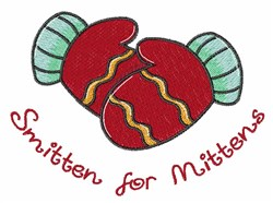 Smitten Mittens embroidery design