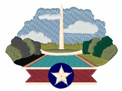 Washington Monument embroidery design