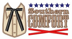 Southern Comfort embroidery design