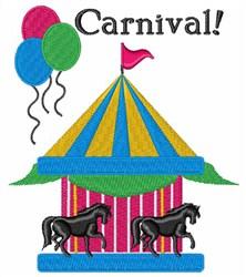 Carnival! embroidery design
