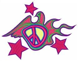 Peace Dove embroidery design