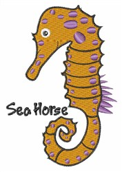 Sea Horse embroidery design