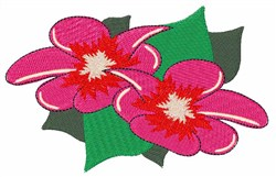 Hibiscus Flower embroidery design